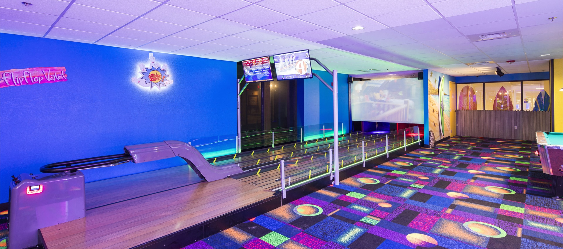 fun arcade room