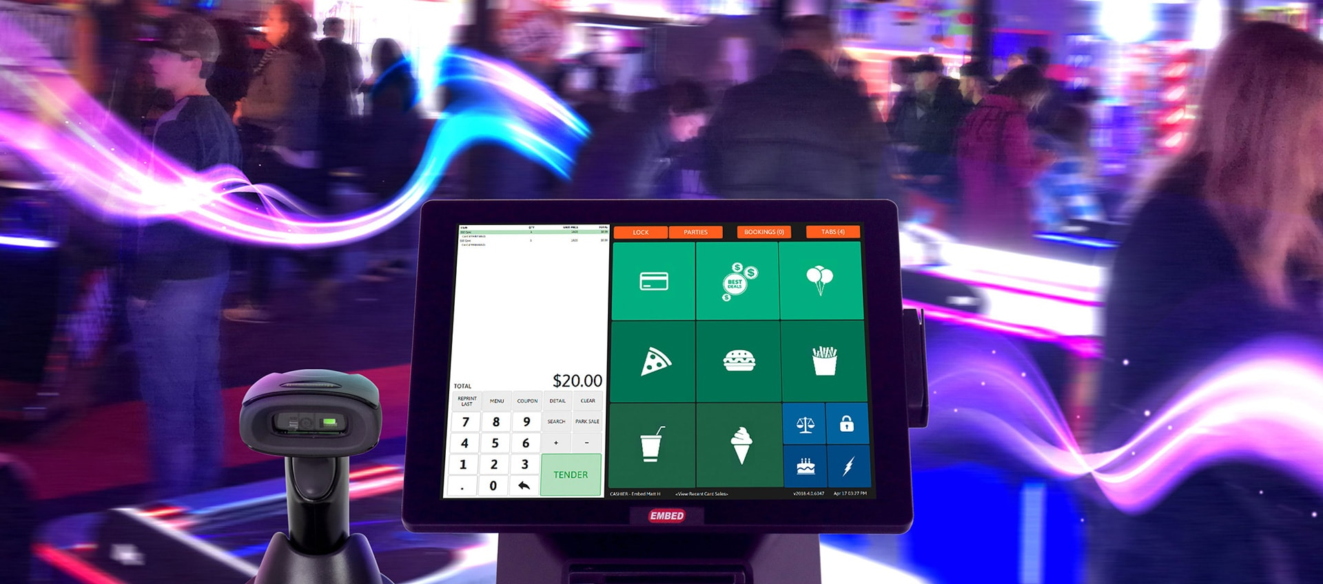 arcade point of sale systems